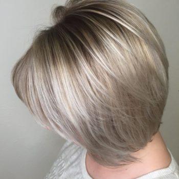 объемная стрижка с каскадом парикмахерская томск